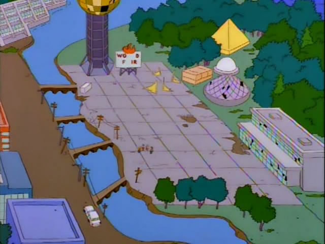 ever since seeing the 1996 episode of the simpsons bart on the road ive wanted to know more about the sunsphere in knoxville specifically